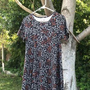 Lularoe Carly Dress XS Leggings Material